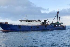 Xử lý tàu cá Trung Quốc đánh bắt trái phép trên vùng biển Quảng Ninh