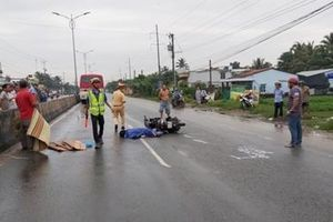 Va chạm liên hoàn trên Quốc lộ 1A, một cô gái tử vong tại chỗ