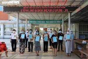 Thêm 3 trường hợp xuất viện, Quảng Nam chỉ còn 7 bệnh nhân COVID-19