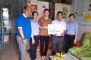 650 triệu đồng hỗ trợ đoàn viên bệnh hiểm nghèo