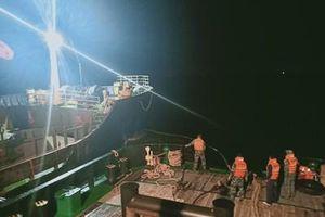 Lữ đoàn Tàu ngầm 189 cứu hộ thành công Tàu GLOBE 6