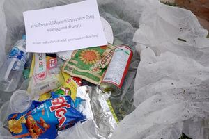 'Quên' rác ở vườn quốc gia Thái Lan, du khách sẽ được gửi trả tận nhà