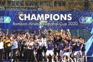 Hà Nội ngược dòng đánh bại Viettel, vô địch Cúp quốc gia 2020