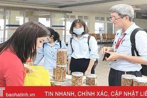 Trưng bày 100 sản phẩm OCOP Hà Tĩnh tại Formosa