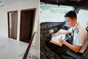 'Cơ trưởng đẹp trai nhất Việt Nam' Quang Đạt tậu cùng lúc 2 căn hộ, phân vân không biết nên ở nhà nào