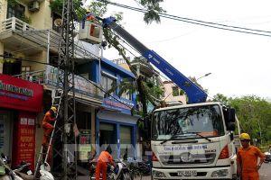 Điện lực Thừa Thiên - Huế đã khôi phục điện cho khoảng 90% khách hàng
