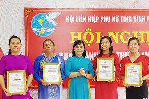 Bình Phước:4 ý tưởng xuất sắc về 'Phụ nữ sáng tạo khởi nghiệp - Kết nối thành công' được khen thưởng