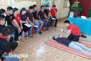 Tập huấn kỹ năng sơ cấp cứu người bị tai nạn giao thông