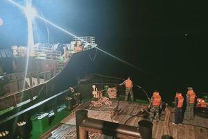 Lữ đoàn Tàu ngầm 189 Hải quân cứu hộ thành công tàu GLOBE 6