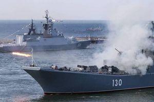 Hơn 20 tàu chiến hạm đội Biển Đen tham gia tập trận Kavkaz-2020