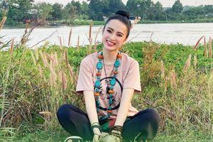 Nhan sắc rực rỡ của mỹ nhân Việt ăn chay trường, chăm lễ chùa