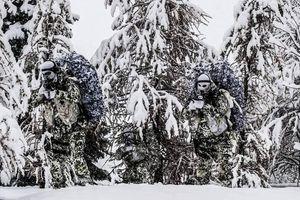 Có bao nhiêu lính đặc nhiệm SAS trong bức ảnh mùa đông?