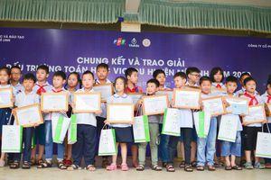 700 học sinh Mê Linh - Hà Nội lần đầu tranh tài Đấu trường toán học