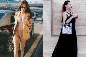 Street style sao Việt tuần qua: Ngọc Trinh 'chơi trội' với mốt bikini, Hà Hồ che khéo bụng bầu với váy suông rộng