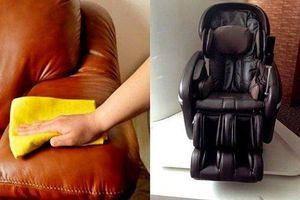 5 mẹo bảo dưỡng ghế matxa đơn giản