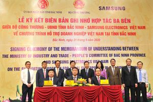 Samsung hợp tác thúc đẩy phát triển công nghiệp hỗ trợ