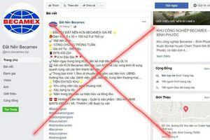 Xử phạt 6 đối tượng sử dụng Facebook mạo danh Becamex IDC