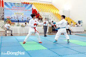 Giải karatedo huyện Vĩnh Cửu mở rộng năm 2020