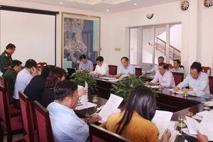 Chủ tịch UBND tỉnh Nguyễn Tấn Tuân làm việc với Bộ Chỉ huy Quân sự tỉnh Khánh Hòa