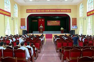Khai mạc Hội thi tiểu đoàn trưởng, chính trị viên tiểu đoàn khối lục quân giỏi lần thứ 2