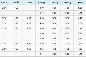 Lãi suất tiết kiệm ngân hàng hôm nay 21/9: Kỳ hạn 24 tháng cao nhất 8,4%, thấp nhất 5,1%