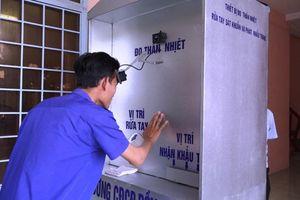 Sáng chế máy phòng Covid '3 trong 1' phục vụ sinh viên