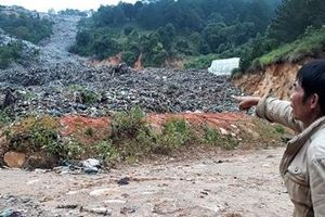 Phê duyệt dự án đóng cửa bãi rác Cam Ly