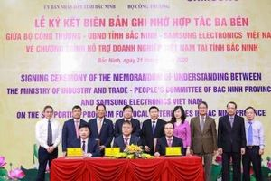 Samsung cam kết hỗ trợ phát triển doanh nghiệp Việt Nam tại Bắc Ninh