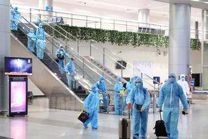 Người nhập cảnh vào Việt Nam sẽ thực hiện cách ly và xét nghiệm SARS-CoV-2 như thế nào?