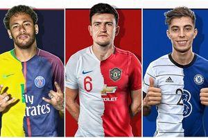 Ngôi sao đắt giá nhất các đội tuyển hàng đầu thế giới là ai?