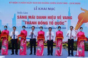 TP.HCM khai mạc triển lãm nhân 75 năm ngày Nam bộ Kháng chiến