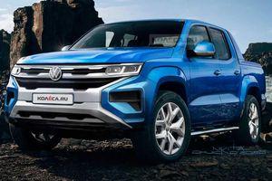 Bán tải của Volkswagen được phát triển dựa trên Ford Ranger?