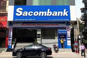 Cổ phiếu Sacombank nổi sóng