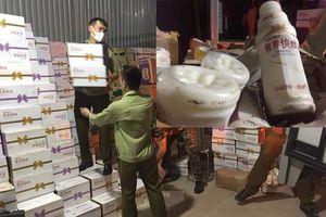 Hà Nội: Thu giữ hơn 10.000 chai sữa chua không nguồn gốc ở La Phù