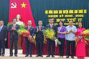 Ông Nguyễn Xuân Linh được bầu làm Chủ tịch UBND huyện Đông Anh