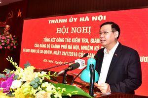 Bí thư Thành ủy Vương Đình Huệ: Người đứng đầu cấp ủy chịu trách nhiệm về kết quả kiểm tra, giám sát
