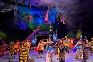 Công diễn chương trình xiếc 'Lời nguyền của bà Tiên' vào dịp Tết Trung thu