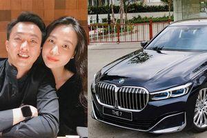 Cường Đô la tậu BMW 740Li hơn 6 tỷ để đón con gái?
