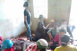 Sét đánh 3 người đang gặt lúa ngoài ruộng bị thương vong