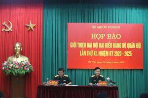 Đại hội đại biểu Đảng bộ Quân đội lần thứ XI diễn ra từ ngày 27-30/9