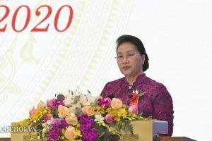 Chủ tịch Quốc hội: Thi đua đề xuất nhiều nội dung thiết thực phục vụ Quốc hội