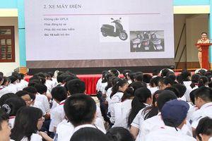 Gần 3000 học sinh, giáo viên Hải Phòng được tuyên truyền pháp luật về an toàn giao thông
