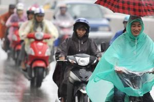 Không khí lạnh tràn về, Bắc Bộ có mưa to đến rất to