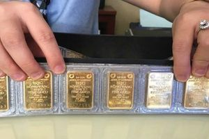 Giá vàng SJC lao dốc theo đà thế giới