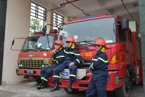 Phim truyền hình về đề tài lính cứu hỏa lần đầu lên sóng VTV