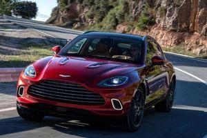 Cận cảnh mẫu xe gầm cao đầu tiên của Aston Martin