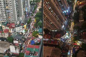 Hình ảnh Hà Nội tắc đường trong ngày mưa gió nhìn từ trên cao khiến dân mạng lắc đầu ngán ngẩm