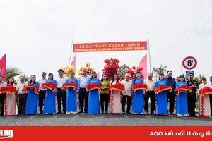 Châu Thành khánh thành công trình chào mừng Đại hội đại biểu Đảng bộ tỉnh lần thứ XI