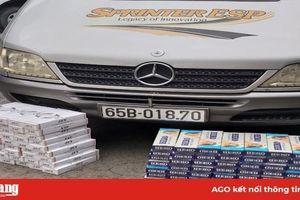 Ôtô khách vận chuyển gần 1.600 bao thuốc lá lậu