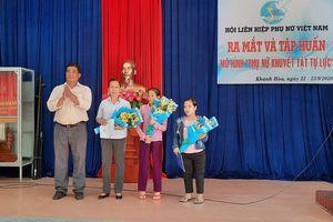 Ra mắt mô hình 'Phụ nữ khuyết tật tự lực' xã Diên Phú